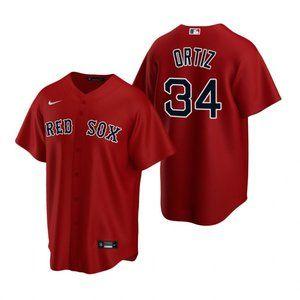 Boston Red Sox #34 David Ortiz Jersey